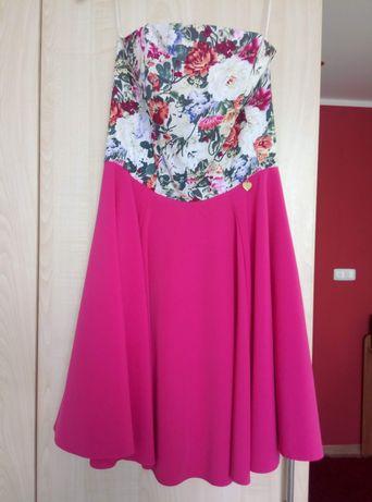 Sukienka, różowa