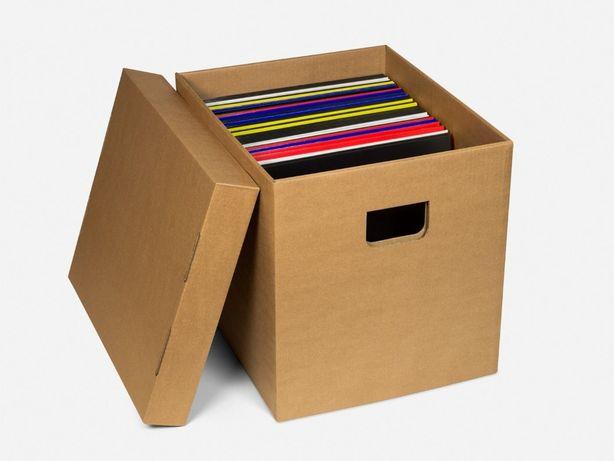 CAIXAS Cartão - Para arrumar ou Transportar vinil LP/12''