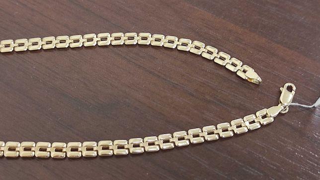 Nowy łańcuszek złoty pr 585