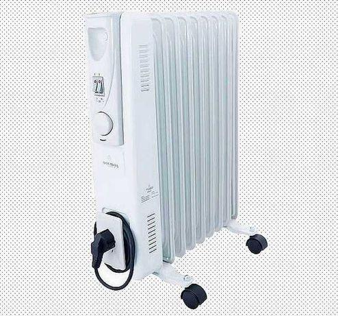 Обогреватель масляный электрический Heater CB 9 S Crownberg 2000W 2кВт