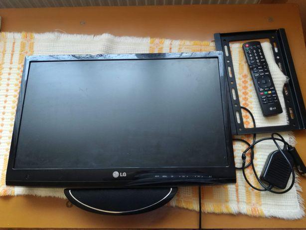 Monitor/telewizor lg 22'' plus antena z zasilaczem