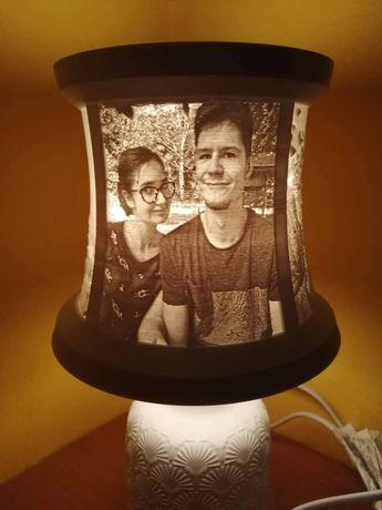 Lampka ze zdjęciami, lampka nocna, lampka ozdobna, upominek