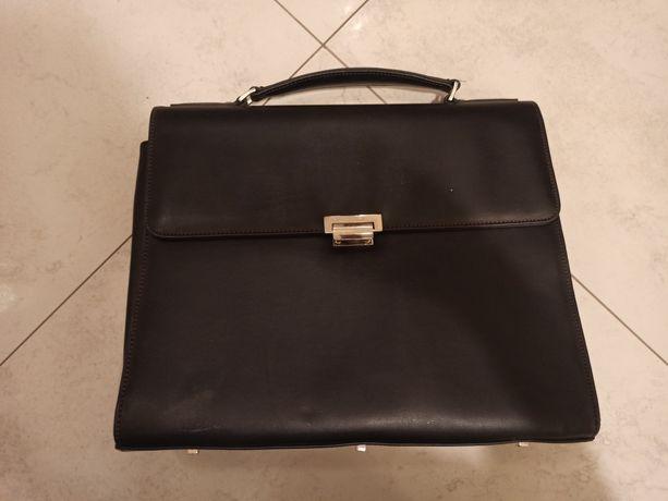 Skórzana torba na laptopa