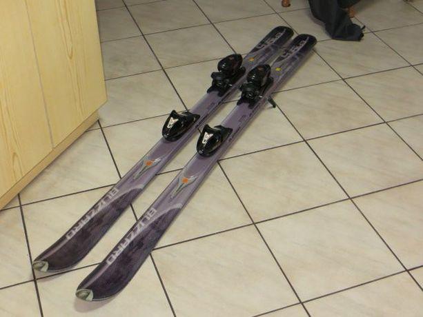narty BLIZZARD z wiązaniami CARVE SL100 Tyrolia+inny sprzęt narciarski