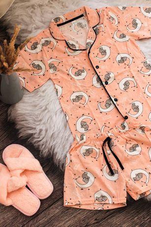 Новый! Домашний костюм (рубашка+шорты) Пижама