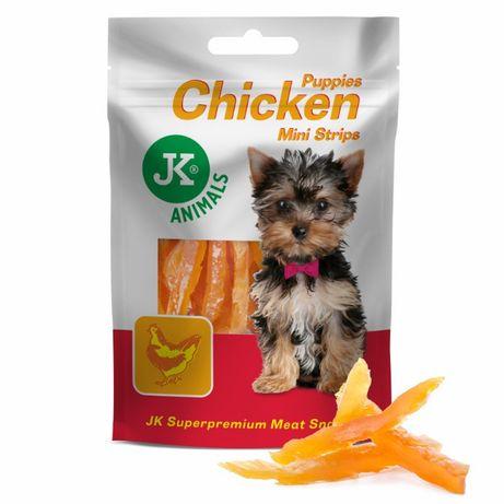 Paski z kurczaka, dla szczeniąt, przysmak 50 g Premium !