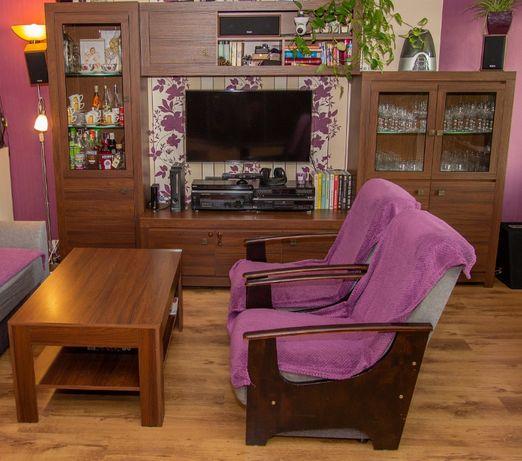 Meble do salonu - witryna szafka RTV stolik kawowy