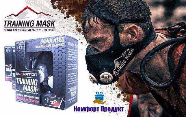 Тренувальна Силова маска Elevation Training Mask 2.0. L S M, для бігу