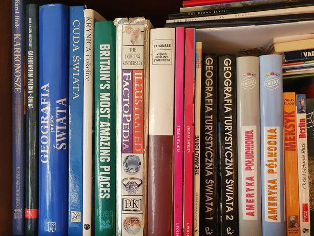 Książki różne, słowniki, atlasy, przewodniki itp.