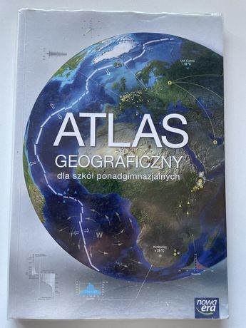 Atlas grograficzny dla szkół ponadgimnazjalnych nowa era