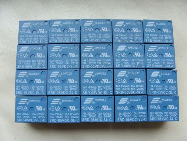 Реле 5 вольт 24 вольта SRD и SRA и др.