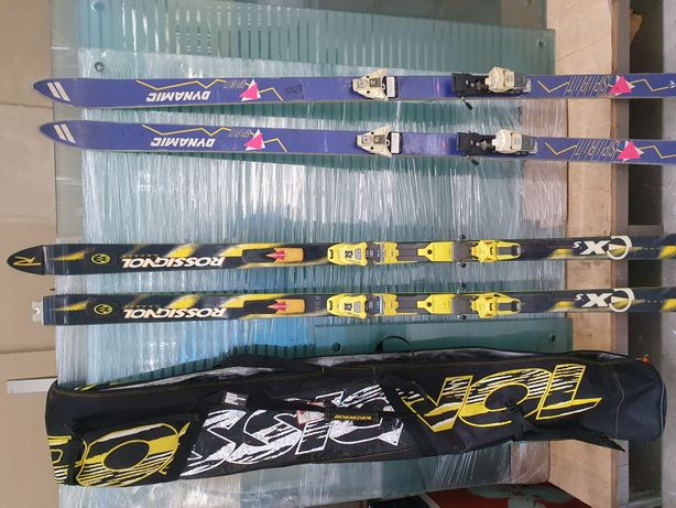 Skis Rossignol & Salomon