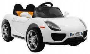 Nowe auto, pojazd Roadster na akumulator dla dzieci, Pilot, Ładowarka