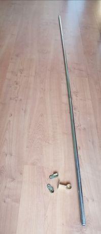 Varão de ferro/alumínio resistente para roupeiro/armário