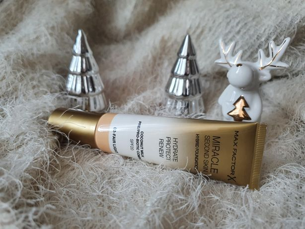 Nowy podkład Max Factor Miracle Second Skin