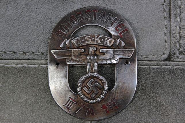 Niemiecka Plakietka Motorstaffel NSKK III Rzeszy