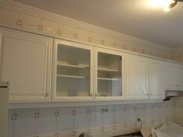 Armário de cozinha com exaustor bom estado e barato