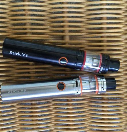 Очень мощная! Электронная сигарета-кальян Smok Stik Vape V8 До 100Вт!