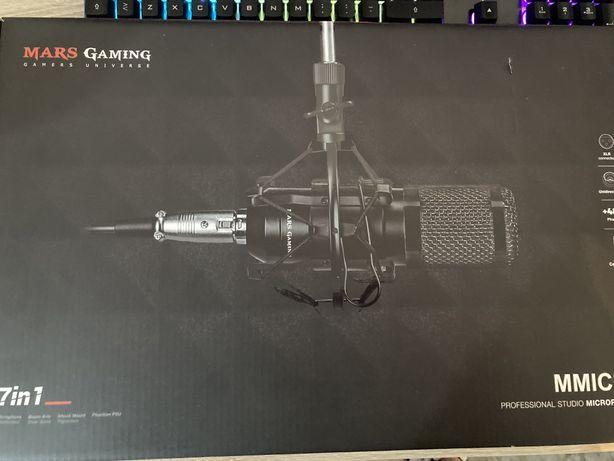 Microfone gaming 7 em 1 mars gaming