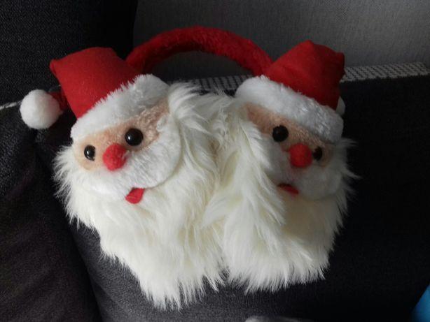 Nauszniki z Mikołajem cudne dla dziecka i dorosłego Mikołaj Mikołajki