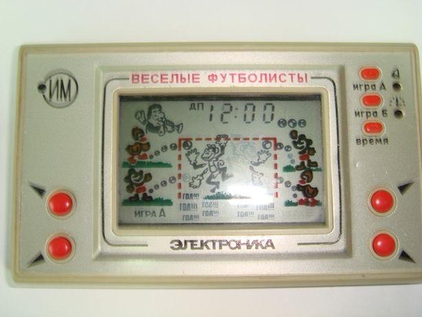 Продам электронную игру Электроника ИМ-22 - Весёлые футболисты (б/у).