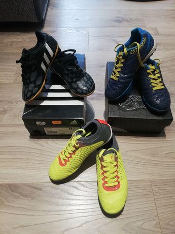 Buty piłkarskie do gry w piłkę korki halówki dla chłopca