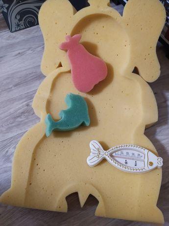 Подставка для купания малыша в подарок термометр для воды