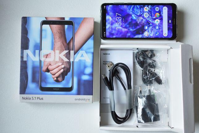 NOKIA 5.1 Plus Dual SIM, gwarancja! Bez SIMLOCK'a