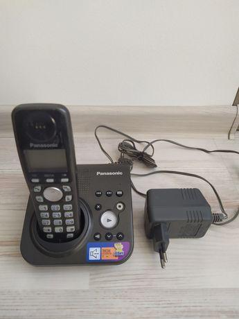 Panasonic kx-tg7227ua радиотелефон с автоответчиком и АОН