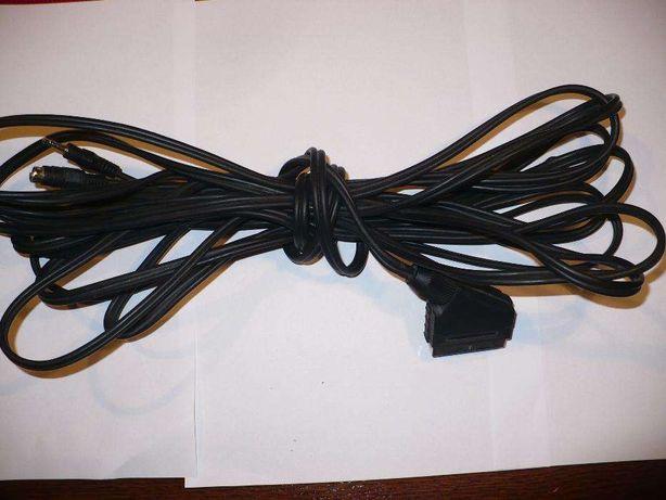 Kabel do komputera, TV: EURO ( SCART) na S-VIDEO, Jacka