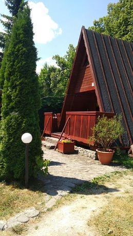 Domek nad jeziorem dla 8os. Międzybrodzie Bialskie