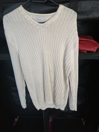 Sweter śmietankowy