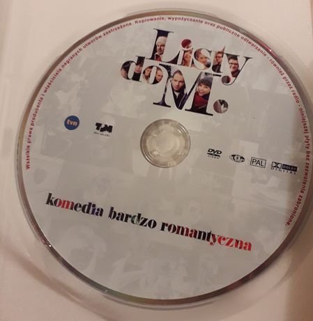 "Film na dvd ""Listy do M."""