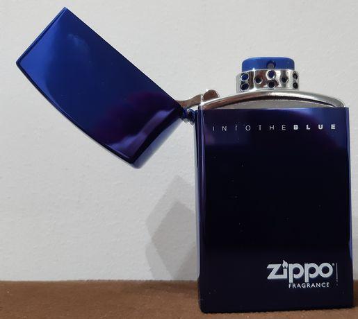 ZIPPPO - Into the blue zasobnik pudełko na wkład jak zapalniczka !!!
