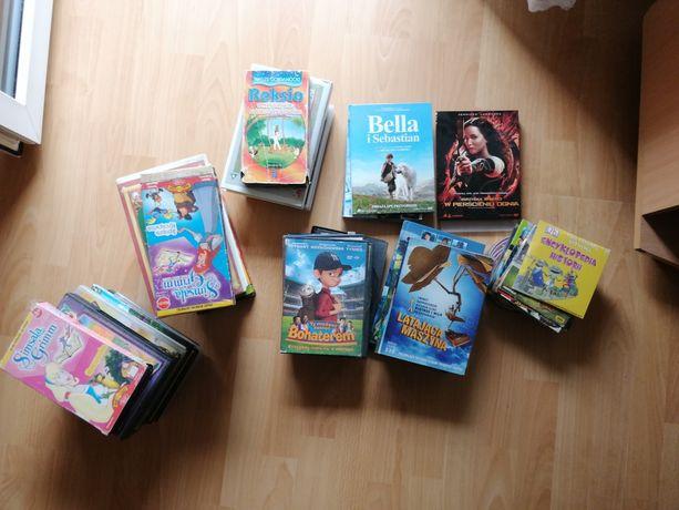 Filmy DVD video kasety wideo