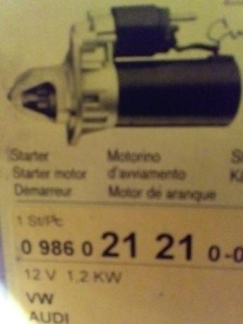 Стартер 12 v 1,2  kw. VW, AUDI.