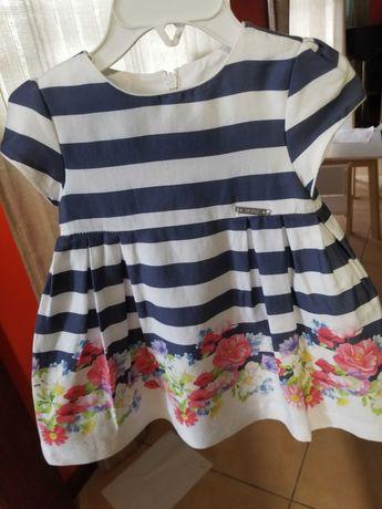 Vestido menina Mayoral para 12 meses