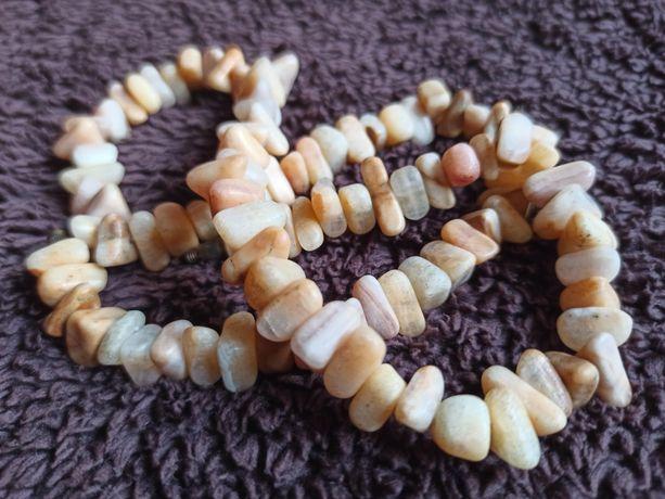Korale z kamieni naturalnych, minerały, biżuteria