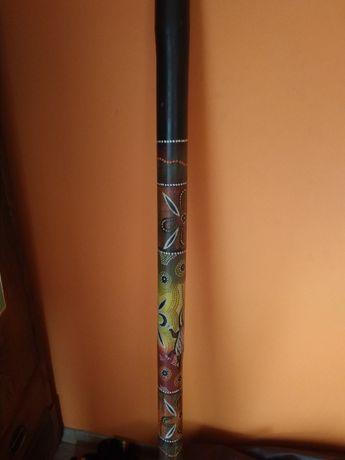 Didgeridoo ton. C malowane/zdobione instrument Etniczny / Instrumenty