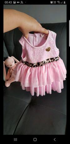 Piękna sukienka tiul idealna na święta