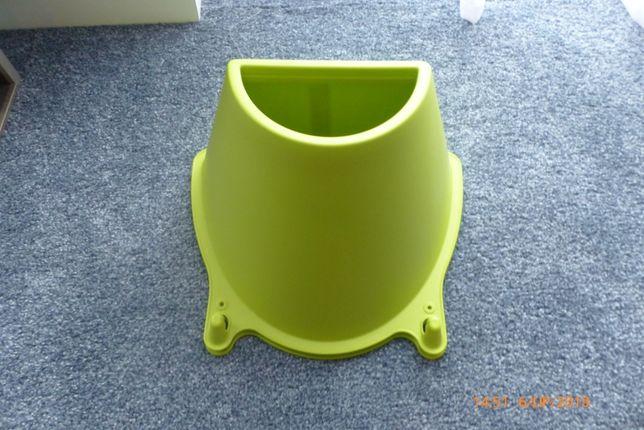 2 pojemniki Ikea Krokig zielone