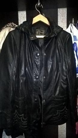 Новая курточка,куртка кожзам XXL.кардиган