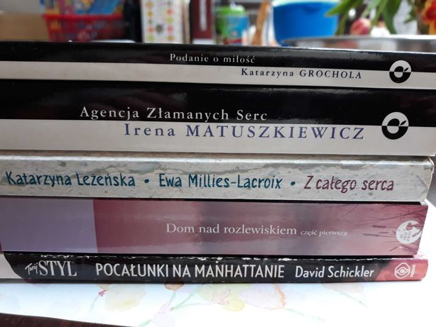 Książka książki o miłości dla kobiet grochola kalicińska matuszkiewicz
