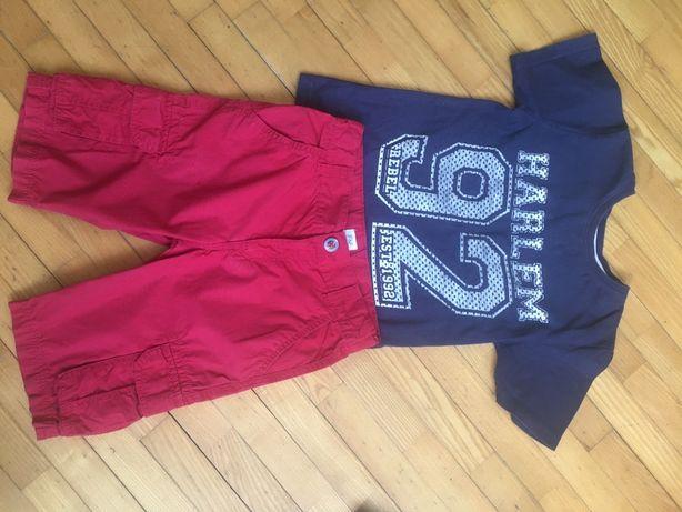 Шорты и футболка для мальчика 7-8 лет