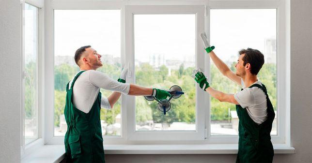 Монтаж та демонтаж вікон, дверей та інші роботи