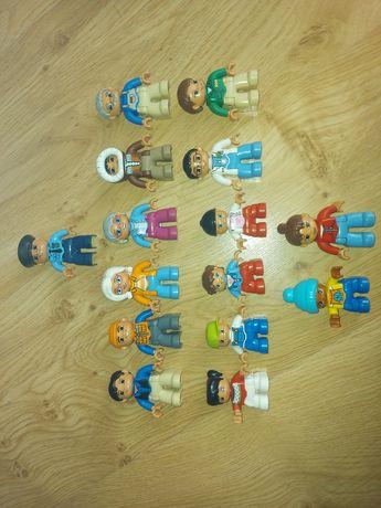 Figurki Ludziki Lego Duplo DUŻY zestaw 15sztuk !