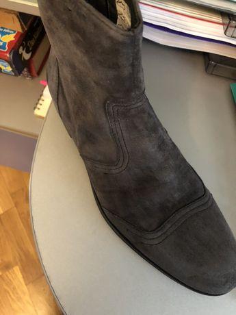 Ботинки/сапоги кожаные мужские Итальянские