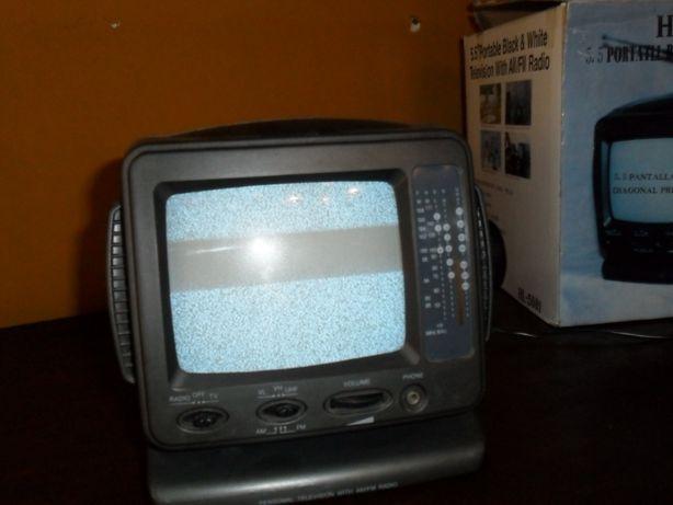 Televisão rádio portátil