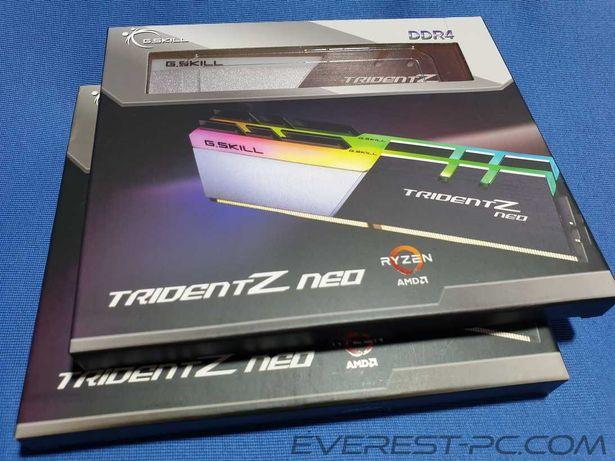 Нові G.Skill Neo 64GB 2x32 F4 3600 3800 3200 2666 C16 18D 64GTZN GTZNC