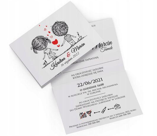 Zaproszenia Ślubne Ludziki DUŻO WZORÓW na Ślub